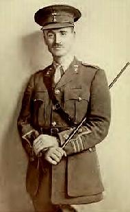 Colonel John Henry Patterson, the Christian commander of the Jewish Legion.  The first Jewish fighting unit in 2,000 years.