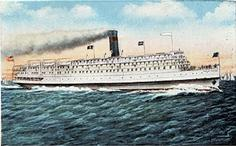 President Warfield (Exodus) as a Chesapeake Bay steamer